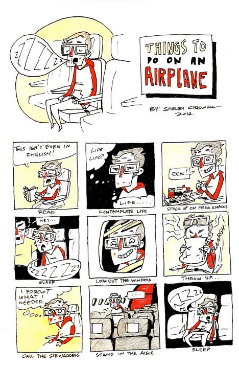 Things to do on an Airplane